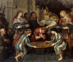 The anointing of Solomon | wikipedia.org