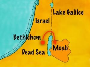 Fateful journey. Family of Elimelech