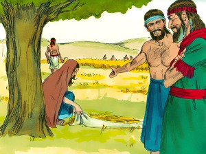 Ruth introduced to Boaz