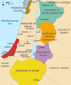 Israel, Moab, and neighboring kingdoms