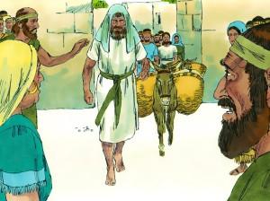 David departs Jerusalem