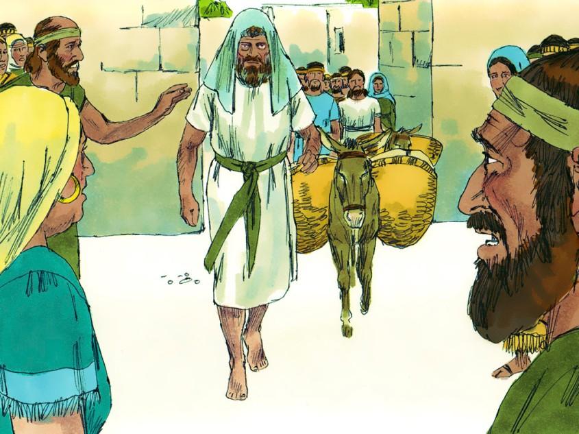 David flees from Jerusalem