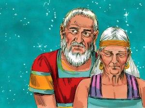 Abraham ponders over God's instruction for descendants