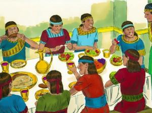 Alternative diet for Daniel and compatriots