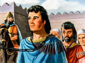Daniel as captive in Babylon