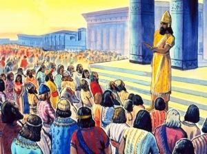 Worshiping Haman