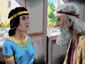 Mordecai rebukes Esther
