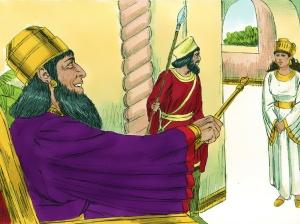 Extending golden scepter