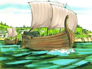 Ship to Phoenicia via Tyre