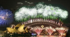 Herald for New Year in Sydney