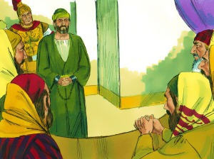 Paul faces Sanhedrin