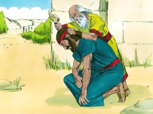 Samuel anoints Saul to be king