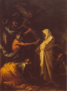 Apparition of spirit of Samuel to Saul