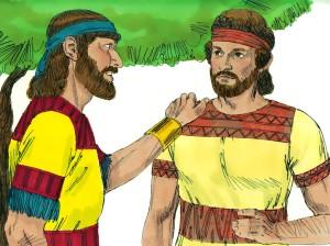 Saul convinces David